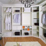 小户型简约风格整体衣柜装修效果图