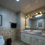 别墅欧式风格奢华卫生间马可波罗瓷砖装修图