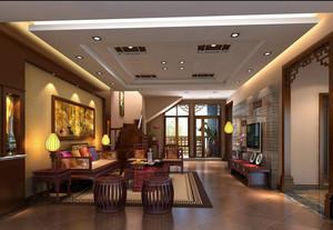 新中式农村小别墅家居客厅图片大全