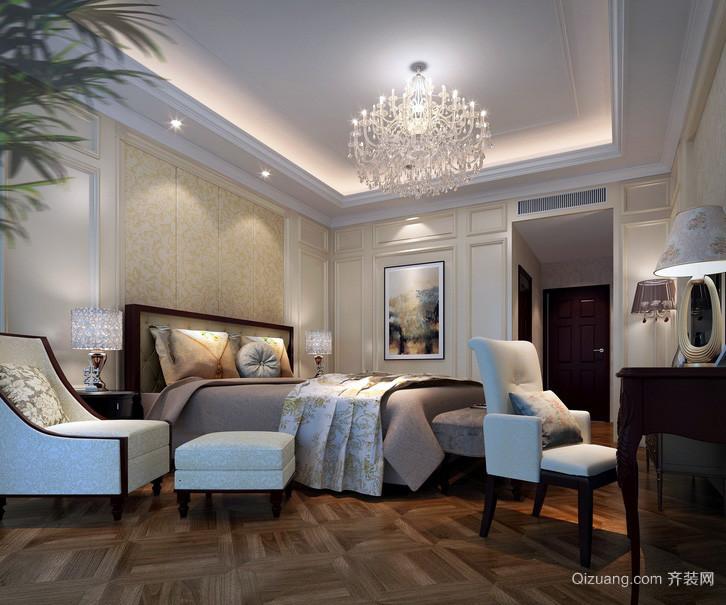 农村二层小别墅简约美式卧室图片大全