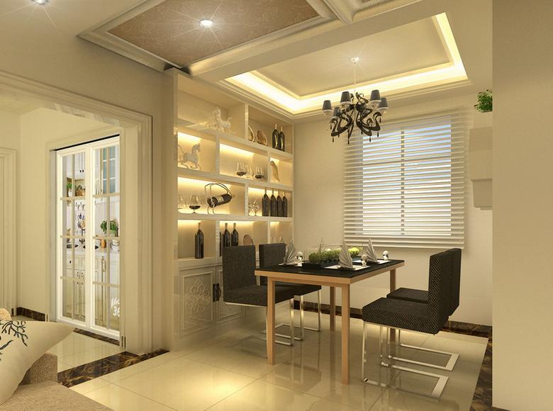 100平米简欧风格房屋装修效果图