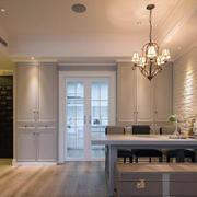 新古典厨房推拉门