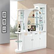 现代三居室玄关隔断酒柜效果图片大全