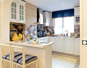 180平米别墅欧式厨房马可波罗瓷砖装修图