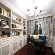 新古典书房时尚书柜