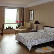 30平米现代简约风格老年公寓卧室装修效果图