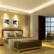 欧式风格奢华大方复式楼卧室装饰