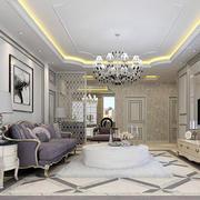 100平米房屋简欧风格客厅装饰