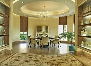 大型欧式豪宅奢华餐厅装修效果图