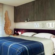 都市160平米新房卧室背景墙装修效果图