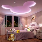 80平米小户型温馨欧式儿童房装修效果图鉴赏