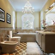 100平米房屋简欧风格卫生间装饰