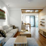 2016大户型欧式精致客厅装修效果图实例