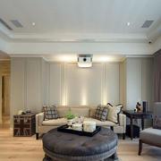 新古典家居客厅背景墙
