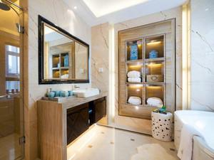 别墅20平米欧式奢华风格卫生间瓷砖效果图