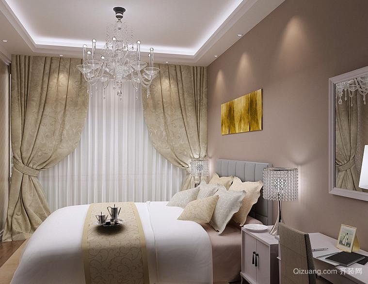 100平米欧式大户型现代卧室装修效果图实例欣赏