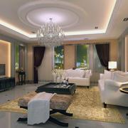 欧式现代简约小户型公寓室内装修风格效果图
