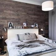 房间卧室床头背景墙