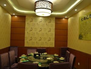 180平米大型饭店中式包厢装修效果图