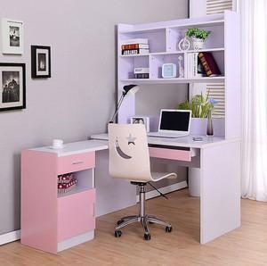 现代都市三室一厅儿童房转角书桌效果图