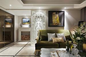 现代美式奢华300平米二层别墅效果图大全