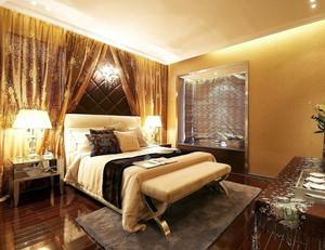 2015别墅自然风格卧室装修设计效果图