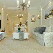 别墅客厅家具展示