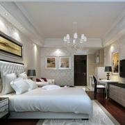 30平米欧式简约风格住宅式卧室装修效果图