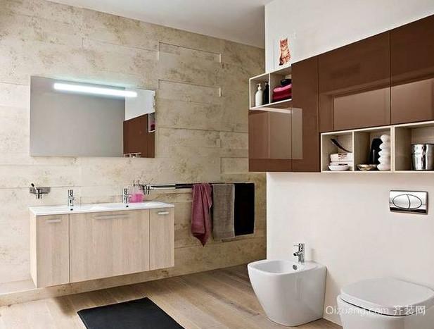 现代简约风格科勒卫浴装修效果图