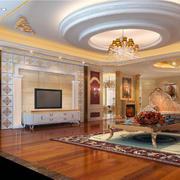 小户型欧式现代公寓室内典雅风格装修效果