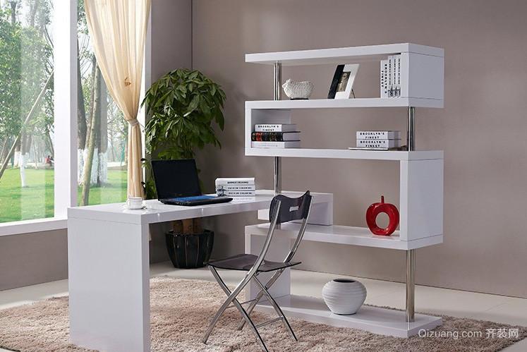 简约时尚大户型家居儿童房书桌效果图