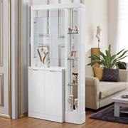 80平米小家庭客厅鞋柜隔断装修效果图