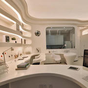 跃层都市现代化创意书房装修效果图