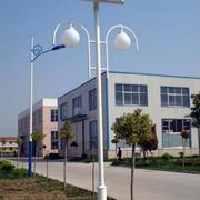 大型厂房庭院太阳能灯饰装修效果图