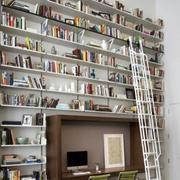 都市简约一体式创意书房装修效果图