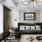 房间客厅沙发背景墙