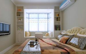 现代都市20平米卧室榻榻米装修效果图