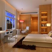 小户型现代简约单身公寓卧室装修效果图