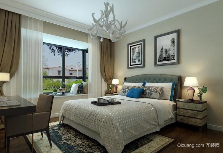 大户型精美型卧室装修效果图