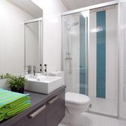 复式楼现代简约风格科勒卫浴装修效果图