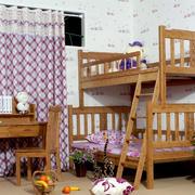 新农村150平米家居儿童房书桌效果图