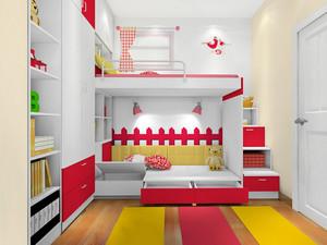 2016年各式各样风格儿童房高低床装修效果图