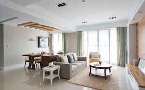 朴素简约148平米客厅装修效果图欣赏