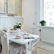 房间餐厅实木餐桌椅