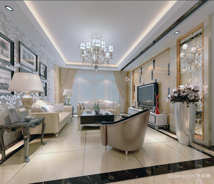 2016新款细腻风格室内装修公寓效果图