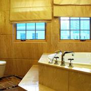 别墅简欧风格奢华大气卫浴装修效果图