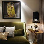别墅客厅奢华台灯