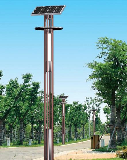 大型景点小径太阳能庭院灯装修效果图