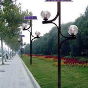 现代简约风格公园太阳能灯饰装修效果图