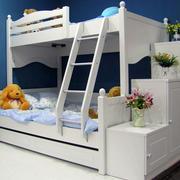 欧式简约风格儿童房高低床装饰